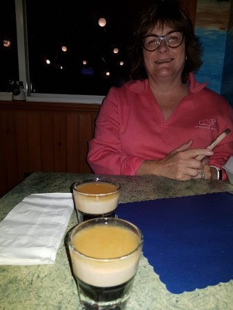 Beverly, MA: Maura ordered the shots!!