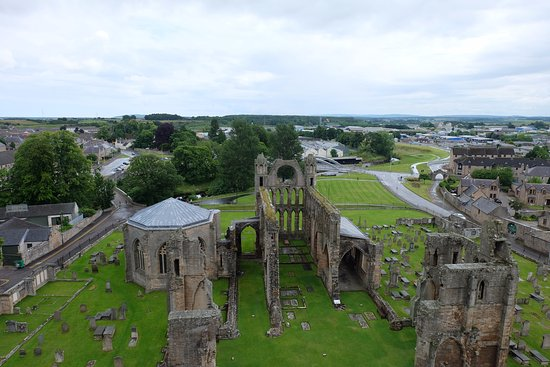 Elgin, UK: viewing platform
