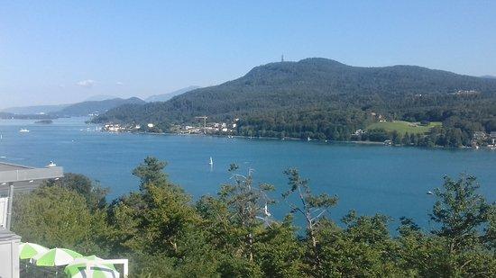 Techelsberg, Austria: Vista dalla camera (view from the room)