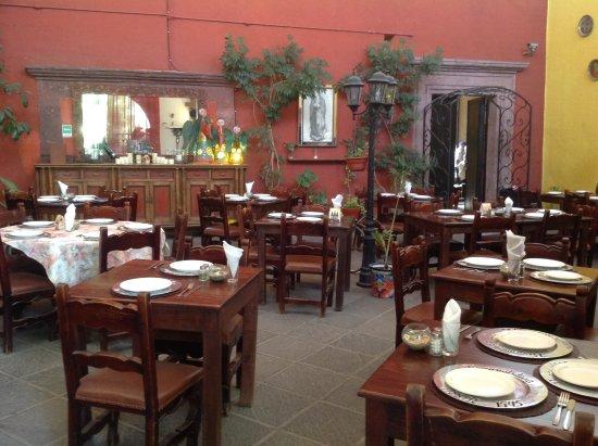 Casalinda Hotel Boutique: ホテル内レストラン