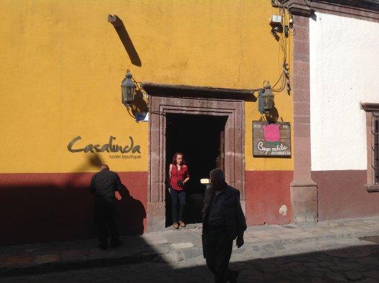 Casalinda Hotel Boutique: ホテル外観