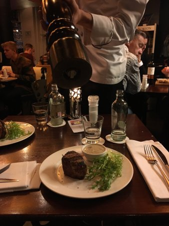 An amazing steakhouse!