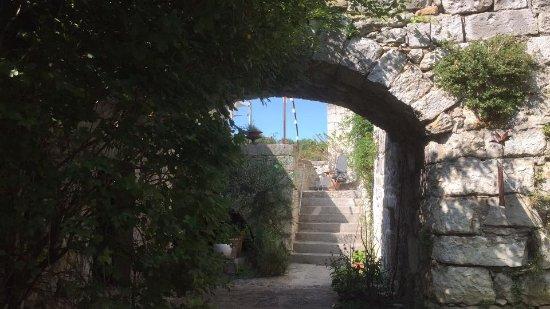 Balazuc, France: Vue depuis le couloir de nage