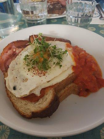 Strandhill, أيرلندا: Chilli Eggs