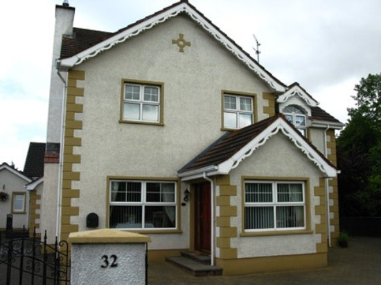 Dungiven, UK: esterno del bed & breakfast