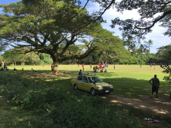 Coastal Inland Tours: Local rugby match