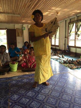 Coastal Inland Tours: Lawai village Fijian Dancing