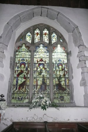 Lenham, UK: window to the memory of vicar and cricketer charles nepean