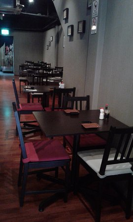 Kushi Japanese Dining: seatings