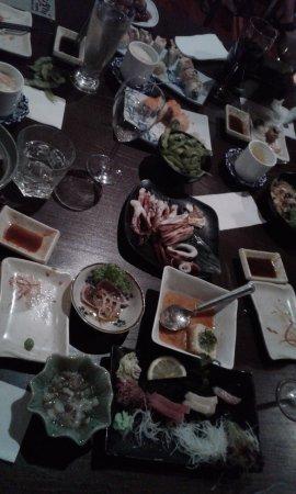 Kushi Japanese Dining Bar: dishes