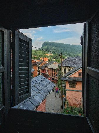 Bandipur, Nepal: View from one of the rooms