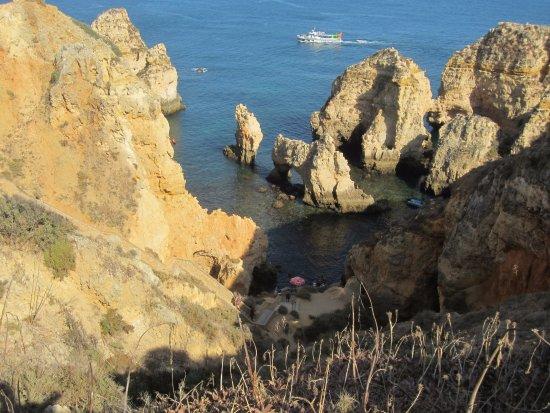 Ponta Da Piedade Picture Of Carvi Beach Hotel Algarve Lagos