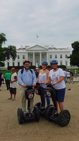 City Segway Tours DC : At Mr Trumps house.