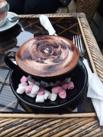 Jungle Cafe Galway: Hot chocolate