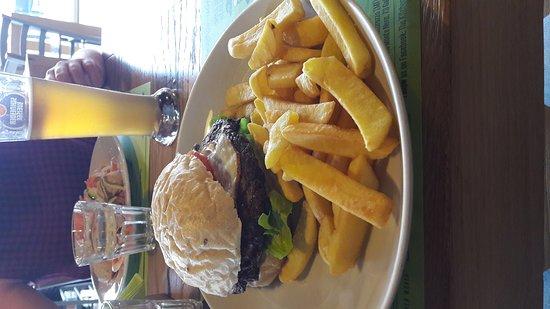Galliate, Italia: Veggie burger