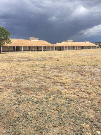 Barracks at Fort Davis