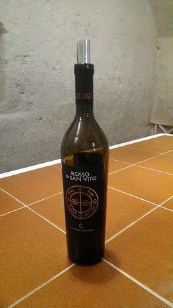 Panecotto: vino