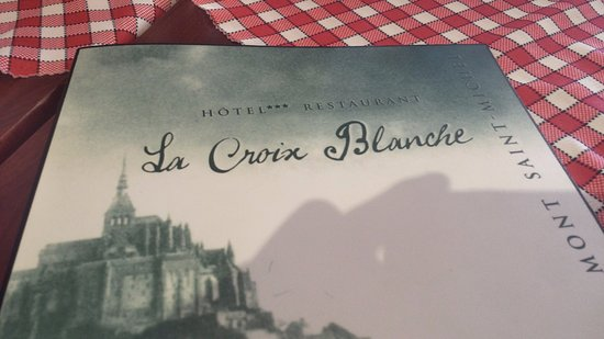 Pluvigner, France: Menu