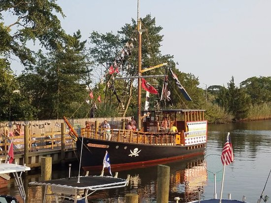 Jersey Shore Pirates : The Pirate Ship and Dock...
