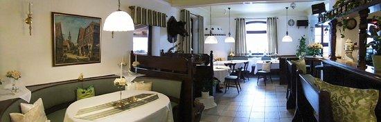 Hofbieber, Germany: Unser gemütlicher Gastraum vorne vom Rhön Stern Hotel.