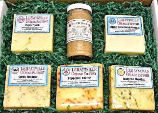 Le Raysville, PA: LeRaysville Cheese Factory