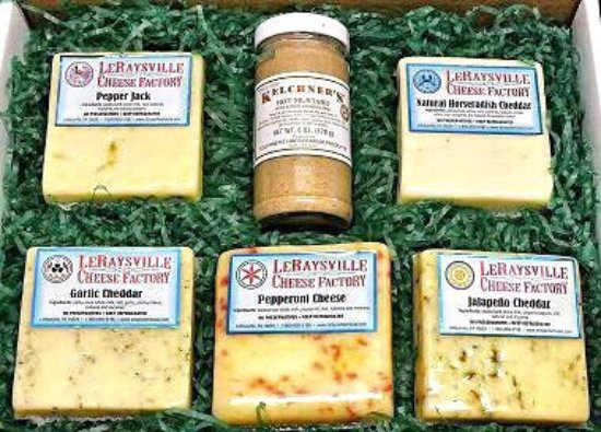 Le Raysville, Πενσυλβάνια: LeRaysville Cheese Factory