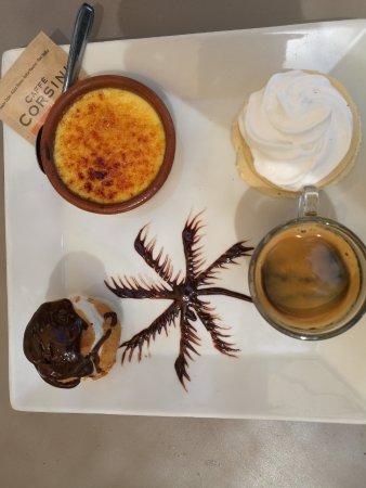 La Varangue du Lagon Chez Denis : café gourmant