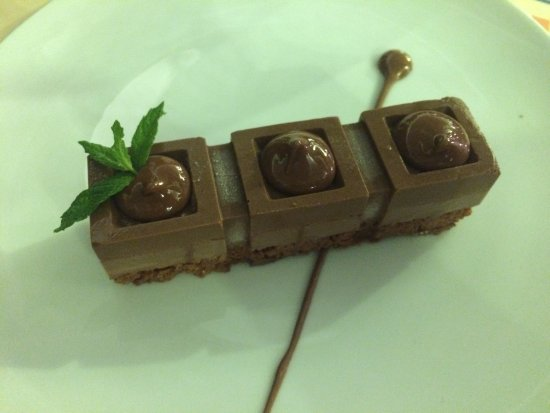 Psaravolada Resort: Chocolate dessert