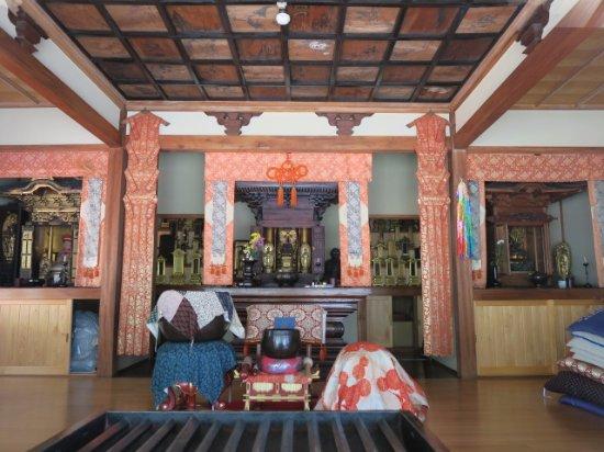 Kiso-mura, Ιαπωνία: 本堂内の様子