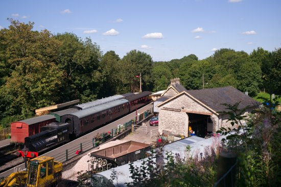 General View of Midsomer Norton S&DJR Station