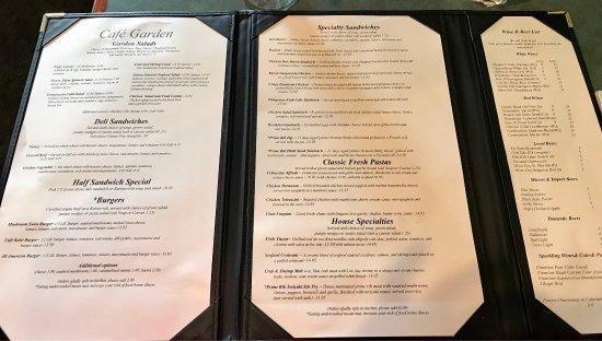 Cafe Garden Port Angeles Menu Prices Amp Restaurant