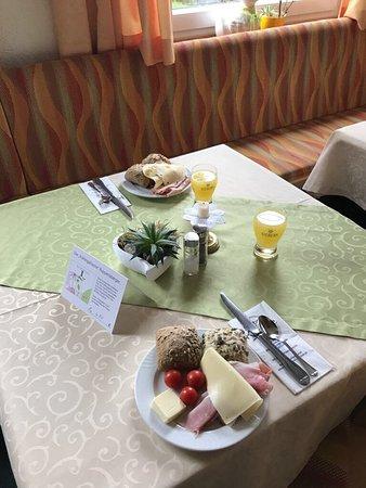 Oberreute, Alemanha: Unser Frühstück
