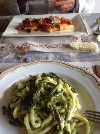 Civitella Marittima, Italie : primi piatti