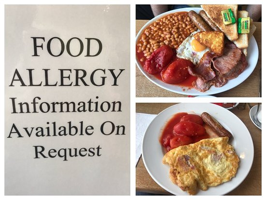 Huge portions at Louby's, Alfreton