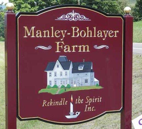 Canton, بنسيلفانيا: Manley-Bohlayer Farm