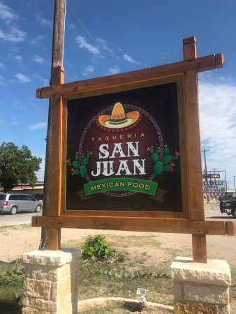 San Juan Mexican Food - Leakey, Texas
