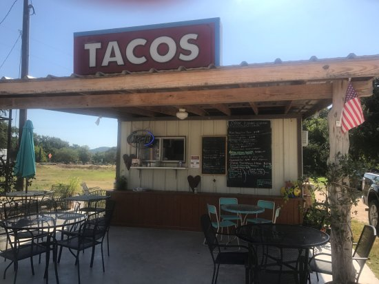 San Juan Mexican Food Tacos - Leakey, Texas