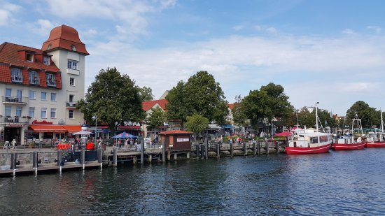 Alter Strom: charming waterfront