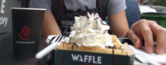 Waffle Factory: Brussels waffle - don't get this one