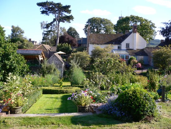 Parsonage Farm: The organic walled garden at Parsonage