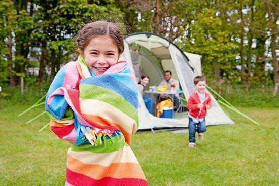 Flookburgh, UK: Tent pitch