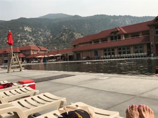 Glenwood Hot Springs Resort: Glenwood Springs pool