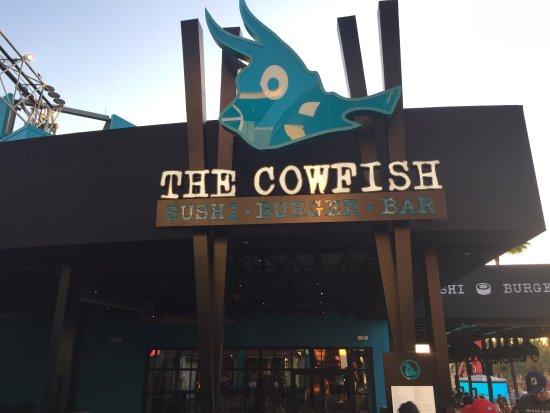 Photo of Japanese Restaurant The Cowfish Sushi Burger Bar at 6000 Universal Boulevard, Orlando, FL 32819, United States