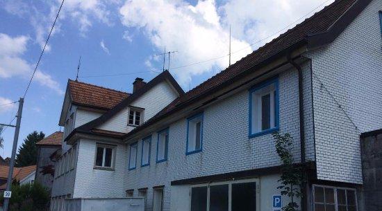 Trogen, Suiza: Outside of Pension