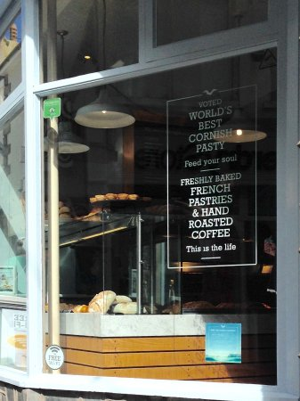 The Cornish Bakery: We saw plain scones in the window that looked lovely, so my wife bought six, but was charged £7.