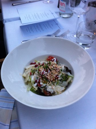 "Kilchberg, Schweiz: Овощной салат ""ше Фритц"""