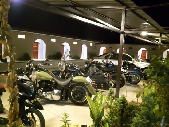 Sadao, Thailand: Big bike