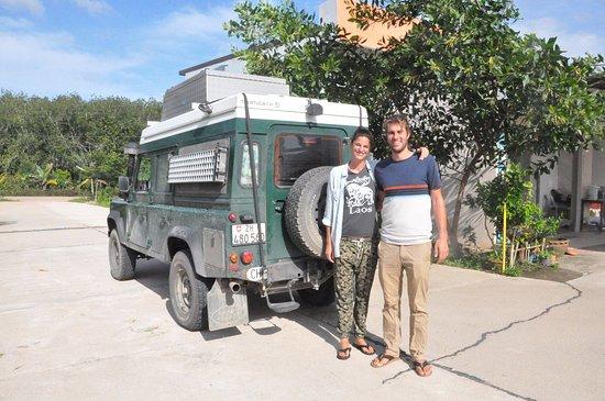 Sadao, Thailand: Guest from Switzerland