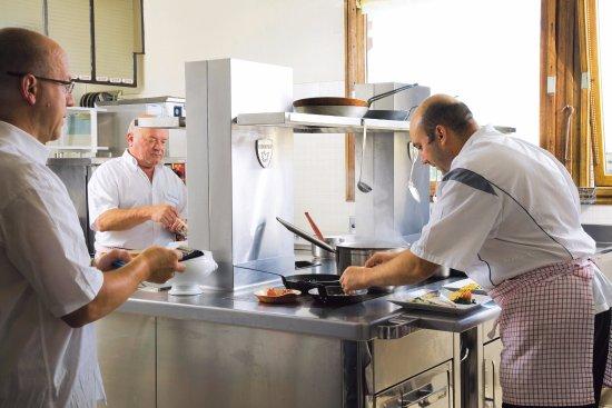 Fontcouverte-la-Toussuire, Frankrike: les cuisines