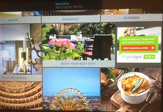Bavaria Boutique Hotel: Intranet service